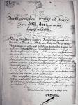 Schutzbrief Salomon Abraham 1831