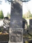 Grabstein Moritz Kahn - Jüdischer Friedhof Biebrich / Moritz Kahn's gravestone - Jewish cemetery, Biebrich