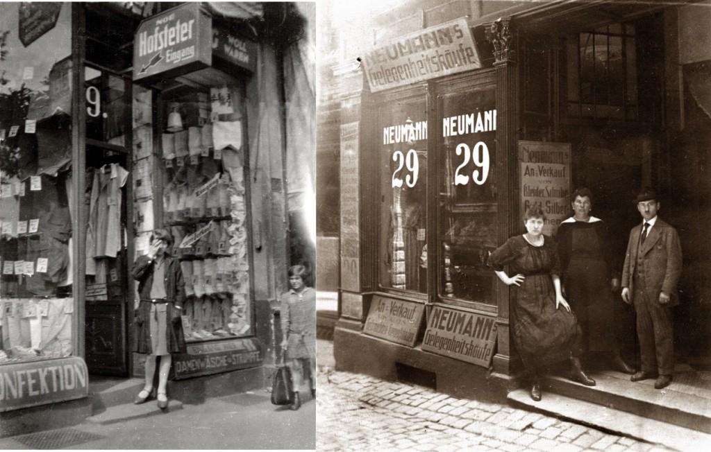 Jüdische Geschäftsleute im Westend